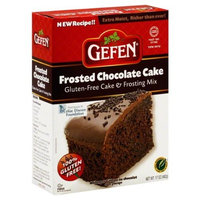 Gefen Cake Mix, Gluten Free, Chocolate Frosting, 17-Ounce (Pack of 4)