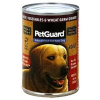 PetGuard Beef, Vegetables & Wheat Germ Dinner - Adult