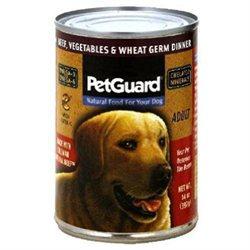 PetGuard Beef, Vegetables & Wheat Germ Dinner - Adult