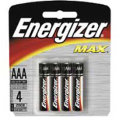 Interstate All Battery Energizer AAA Battery 4-Pack