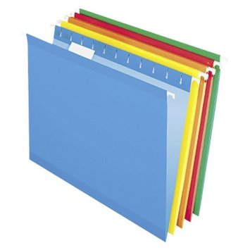 Pendaflex Reinforced Hanging Folders, Letter -