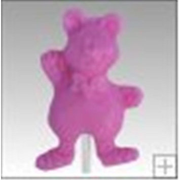 Grand Canyon Foods 84802 Teddy Bear Shaped Lollipops, 24 Pack