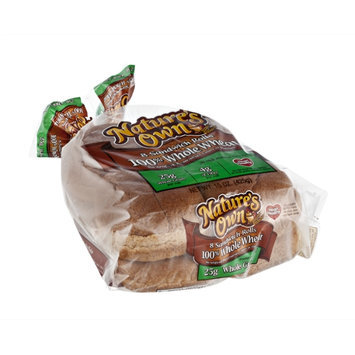 Nature's Own 100% Whole Wheat Sandwich Rolls - 8 CT