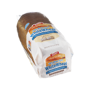 Schmidt Old Tyme 100% Whole Grain White Wheat Sliced Bread