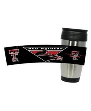 Hunter Manufacturing NCAA - Texas Tech Red Raiders Travel Mug: 15 oz Stainless Steel Travel Tumbler