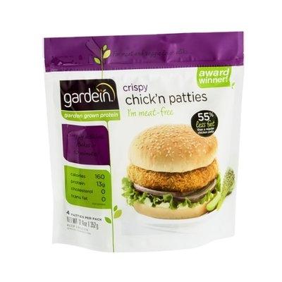 Gardein Chick'n Patties Crispy - 4 CT