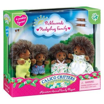 Calico Critters Pickleweeds Hedgehog Family Set