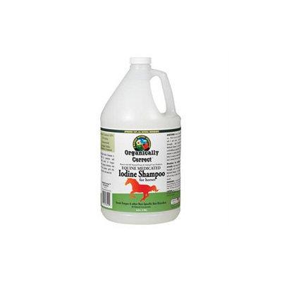 Organically Correct Iodine Medicated Shampoo for Horses