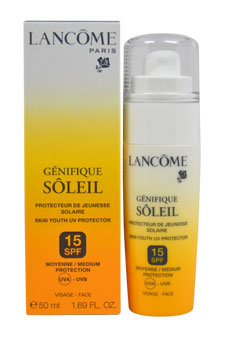Lancome Genifique Soleil Skin Youth UV Protector SPF 15 UVA-UVB 50ml/1.69oz