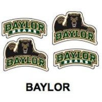 Innovative Adhesives BC-12 Baylor University Fan-A-Peel Temporary Tattoo-Sticker