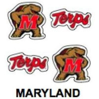 Innovative Adhesives BC-12 Maryland Fan-A-Peel Temporary Tattoo-Sticker