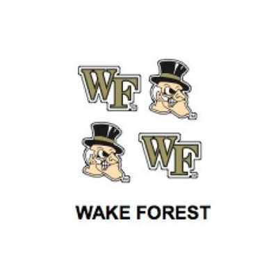 Innovative Adhesives BC-12 Wake Forest Fan-A-Peel Temporary Tattoo-Sticker
