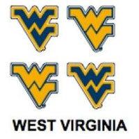 Innovative Adhesives BC-12 West Virginia Fan-A-Peel Temporary Tattoo-Sticker