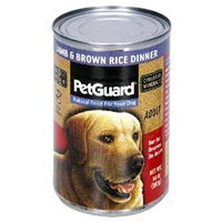 Pet Guard 64023 Adult Dog Canned Lamb & Brown Rice