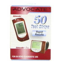 Advocate Test Strips, 50 CT