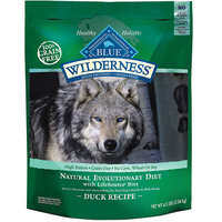 Blue Buffalo Wilderness Grain Free Duck Recipe Dry Dog Food