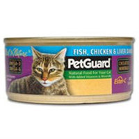 Pet Guard 64014 Cat Fish Chicken Liver