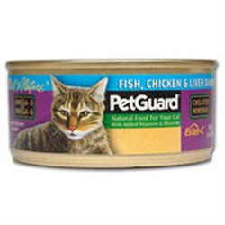 Pet Guard 64014 Cat Fish Chicken Liver