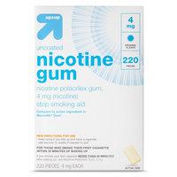 up & up Nicotine Polacrilex 4 mg Original Gum - 220 Count