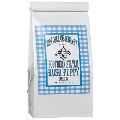 New Orleans Gourmet Foods Orleans Gourmet Foods Hush Puppy Mix, 7.5-Ounce Bags (Pack of 6)
