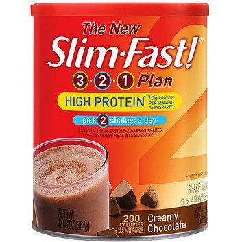 SlimFast 3.2.1 Plan High Protein creamy Chocolate Shakes
