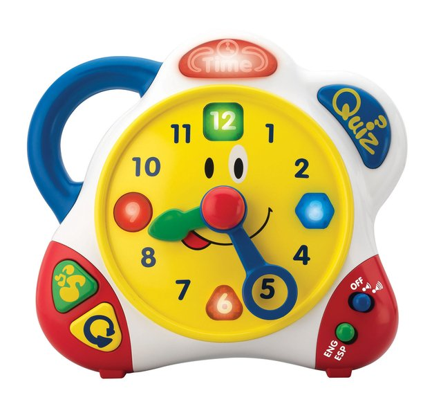 So Happy Kid Toy Group Bilingual Learning Clock