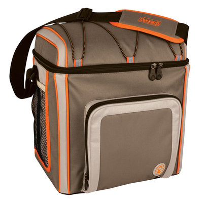 Coleman 16 Can Soft Cooler Outdoor With Liner Tan