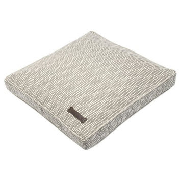 Jax And Bones Jax & Bones Premium Cotton Pillow Dog Bed Pearl, Size: 36L x 28W in. Rectangle