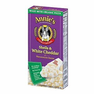 Annie's Homegrown Totally Natural Shells & White Cheddar Regular Size