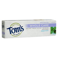 Tom's of Maine Whole Care Peppermint Toothpaste - 4.7 oz