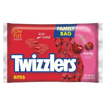 Twizzlers Bites - Cherry - Family Bag - 1 Bag (24 oz)