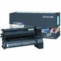 Lexmark C7700MS Magenta Return Program Toner Cartridge