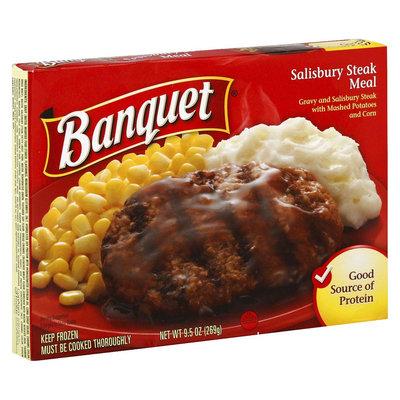 Banquet Frozen Salisbury Steak Meal 9.5 oz