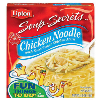 Lipton Soup Secrets Chicken Noodle With Diced White Chicken Meat 4.2 oz