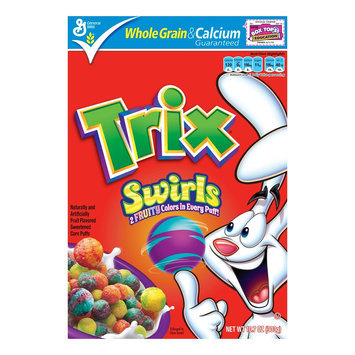 General Mills Trix Swirls Cereal 10.7-oz.