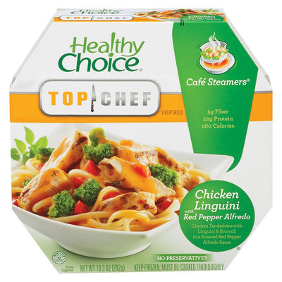 Healthy Choice Cafe Steamers Chicken Red Pepper Alfredo 10.3 oz