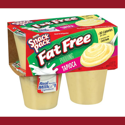 Hunt's Snack Pack Pudding, 4 ct
