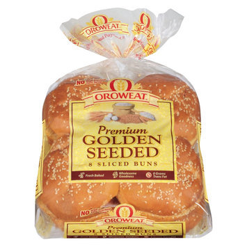 Oroweat Golden Egg Seeded Buns - 8-ct.