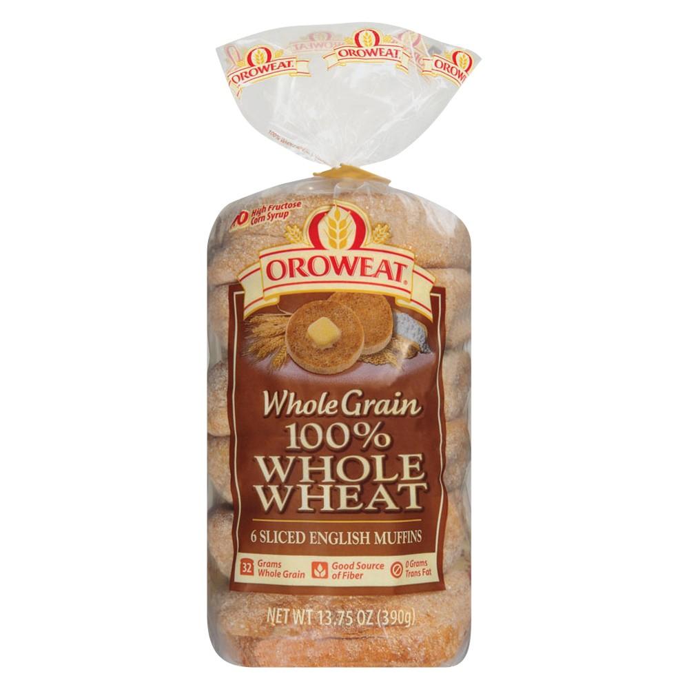Oroweat Whole Wheat English Muffins - 6-ct.