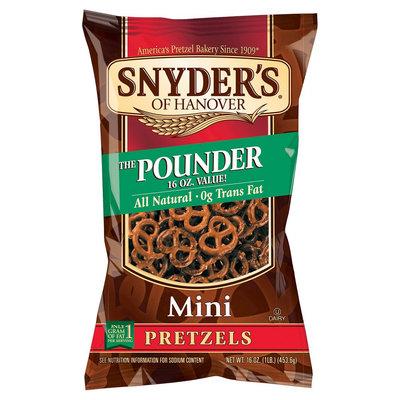 Snyder's Of Hanover The Pounder Pretzels Mini