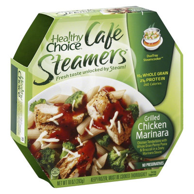 Healthy Choice Cafe Steamers Grilled Chicken Marinara 10 oz