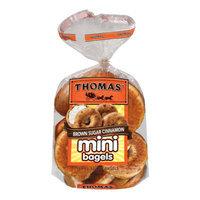 Thomas' Brown Sugar Cinnamon Pre-Sliced Mini Bagels - 18 oz. 12 Ct.