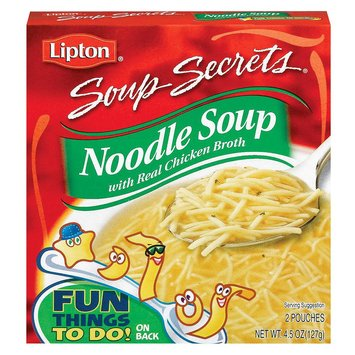 Lipton Soup Secrets Noodle Soup with Real Chicken Broth 4.5 oz