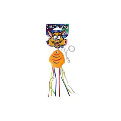 Sergeants Pet Care Prod.inc. Sergeants Pet Care Products Crazy Claws Fish With Ribbons Soft Cat Toy 49962