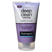 Neutrogena Deep Clean Relaxing Nightly Scrub, 4.2 Ounce