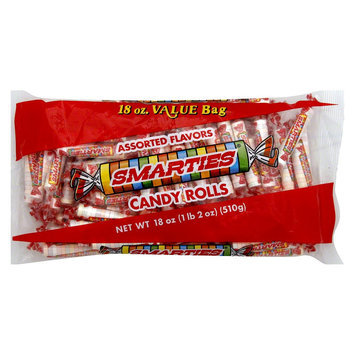Smarties Assorted Flavors Candy Rolls