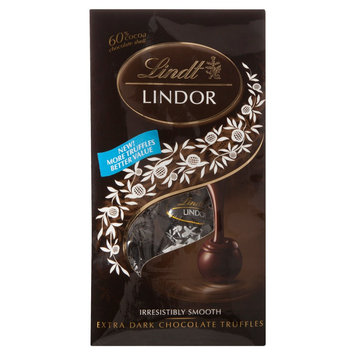 Lindt Lindor 60% Cocoa Dark Chocolate Truffles