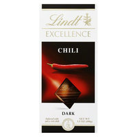 Lindt Excellence Chili Dark Chocolate Bar 3.5 oz