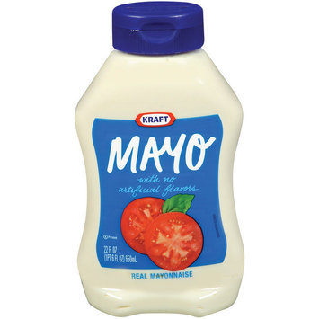 Kraft Real Mayonnaise Squeeze Bottle 22 oz