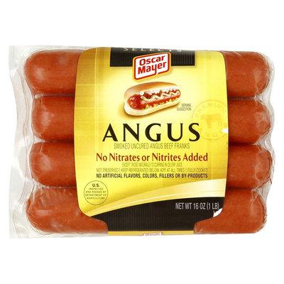 Oscar Mayer Smoked Angus Beef Franks 16 oz